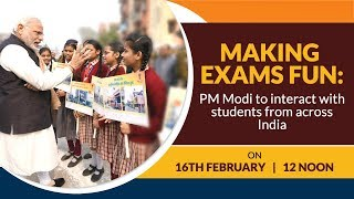 Making Exams Fun: PM Modi interacts with students from across India