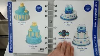 Sam's club Birthday Cake style