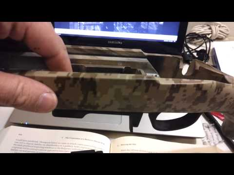Fixing the magazine rattle on the Savage Model 10 FCP-SR.