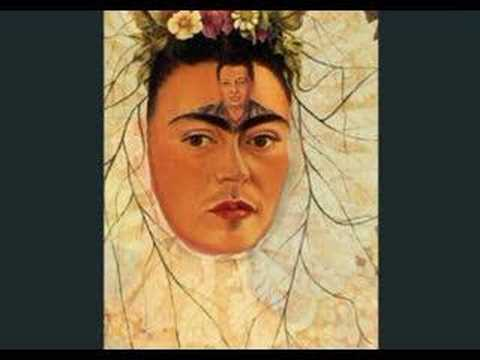 Frida Kahlo Self Portraits - Morphed