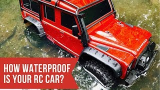 How Waterproof Is Your RC Car?