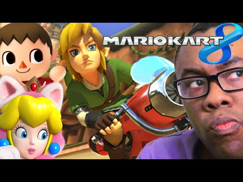 LINK in MARIO KART 8 (Why Nintendo DLC is Good) : Black Nerd