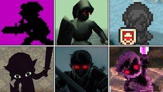 Evolution of Dark Link Battles in Zelda games (1987 - 2017)