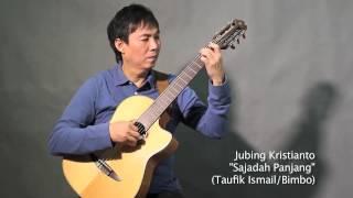 "download lagu Jubing, Fingerstyle Guitar - ""sajadah Panjang"" T. Ismail/bimbo gratis"