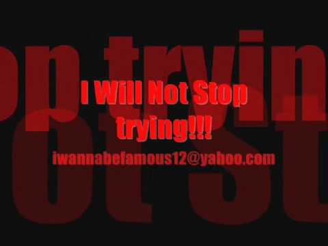 wont stop trying~UNSIGNED ARTIST BOOMARANG