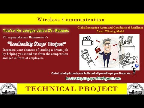 Leadership Stage (Education to Dream Employment System) Project - Wireless Communication