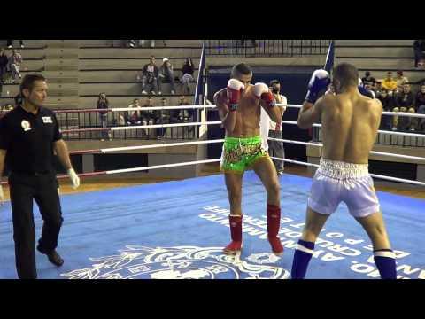 Ruben Rodriguez vs David Garcia Kick Boxing Neo Profesional Round 1