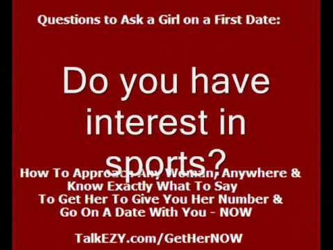 What questions to ask a girl online dating