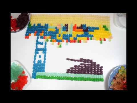 Gummy Bears Stop Motion