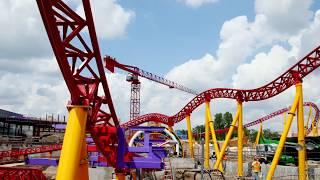 Slinky Dog Coaster COMPLETE!!! New Toy Story Land Expansion (Disney World Update!)