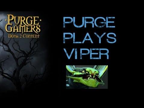 Dota 2 Purge plays Viper