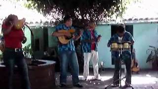 "Cuban music band playing ""Guantanamera"""