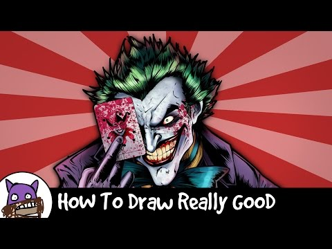 How To Draw Really Good - The Joker video