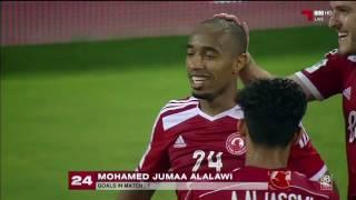 اهداف المباراة : العربي 3 - 4 الجيش دوري نجوم قطر