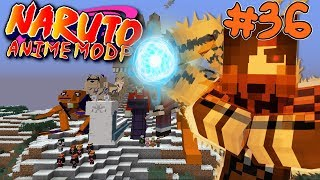 SAGE MODE!    Naruto Anime Modpack Episode 36 (Minecraft Naruto Anime Mod)