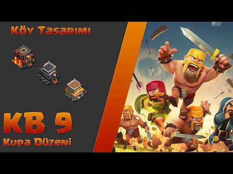 Clash of Clans Epic Town Hall 9 Farming Base (Clash of Clans 9 Seviye