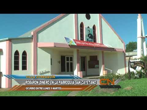 La Parroquia de Villa Zorraquín fue víctima de un robo