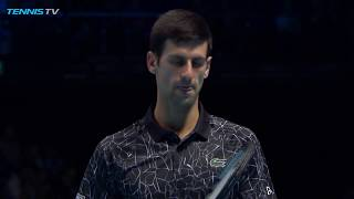 TOP 10 BEST SINGLES SHOTS | NITTO ATP FINALS 2018