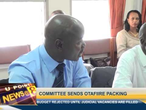 Budget committee sends Otafiire packing