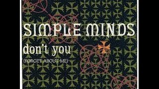Simple Minds - Dont You Forget About Me - Flash Back Internacional