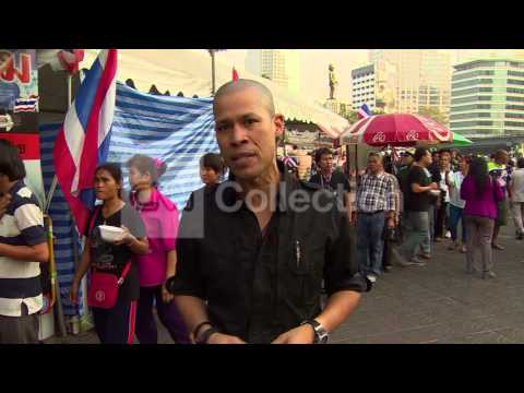 THAILAND: ELECTIONS AMID HEAVY PROTESTS