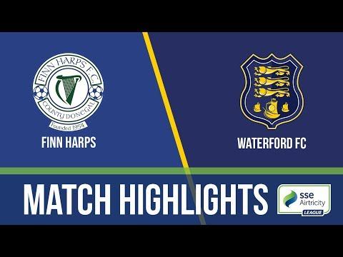 GW17: Finn Harps 3-2 Waterford