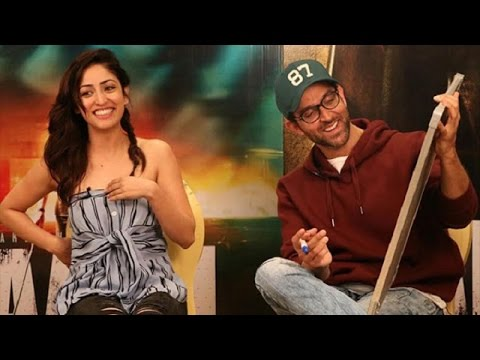Uncut: Cute Yami Gautam And Hrithik Roshan Gave Promotional Interview For Kaabil