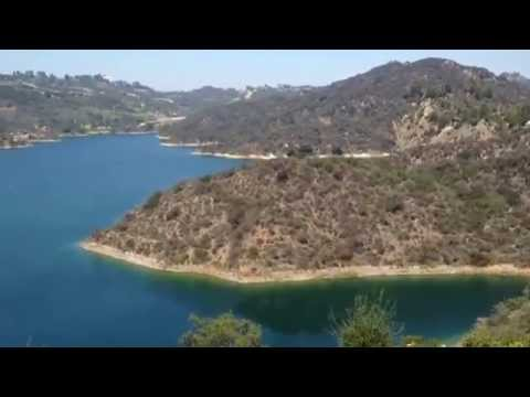 The Bel Air Reservoir a hidden gem in LA.