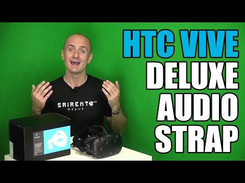 Deluxe Audio Strap Review: Unboxing. Setup. Overview & Stress Testing in HTC Vive VR Games