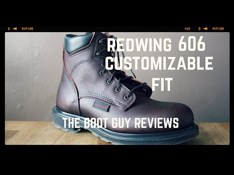 REDWING SHOES  # 606 Men's 6-inch Boot [ THE BOOT GUY REVIEW ]