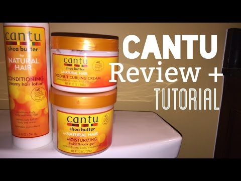 Natural Curly Hair | CANTU Review + Tutorial/Demo