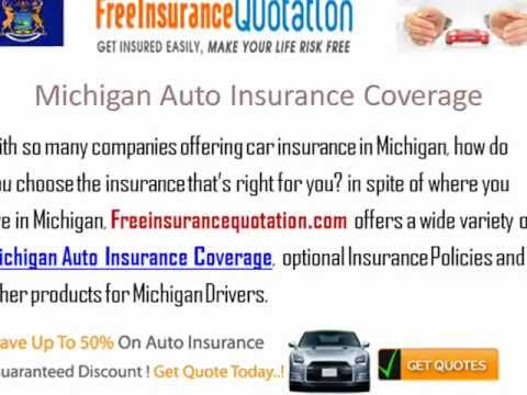 Michigan Auto Insurance Company - Cheapest Michigan Car Insurance