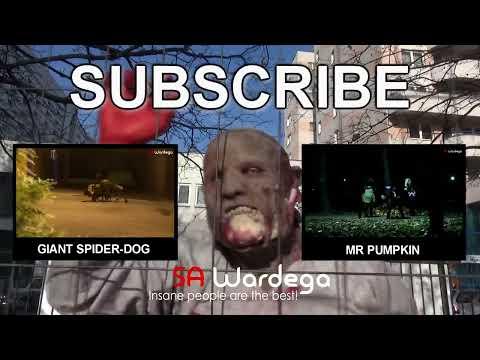 Zombie Apocalypse Halloween Prank (SA Wardega)