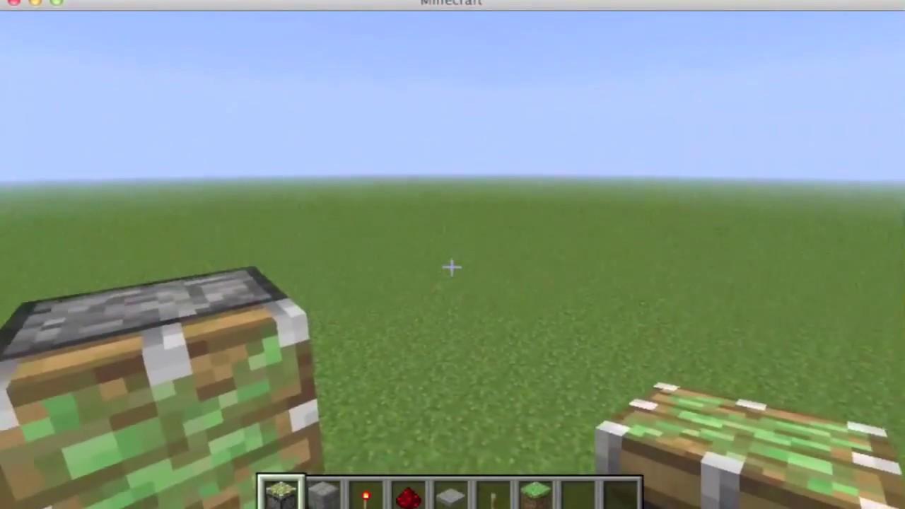 Piston Door 3x2 3x2 Piston Door Tutorial