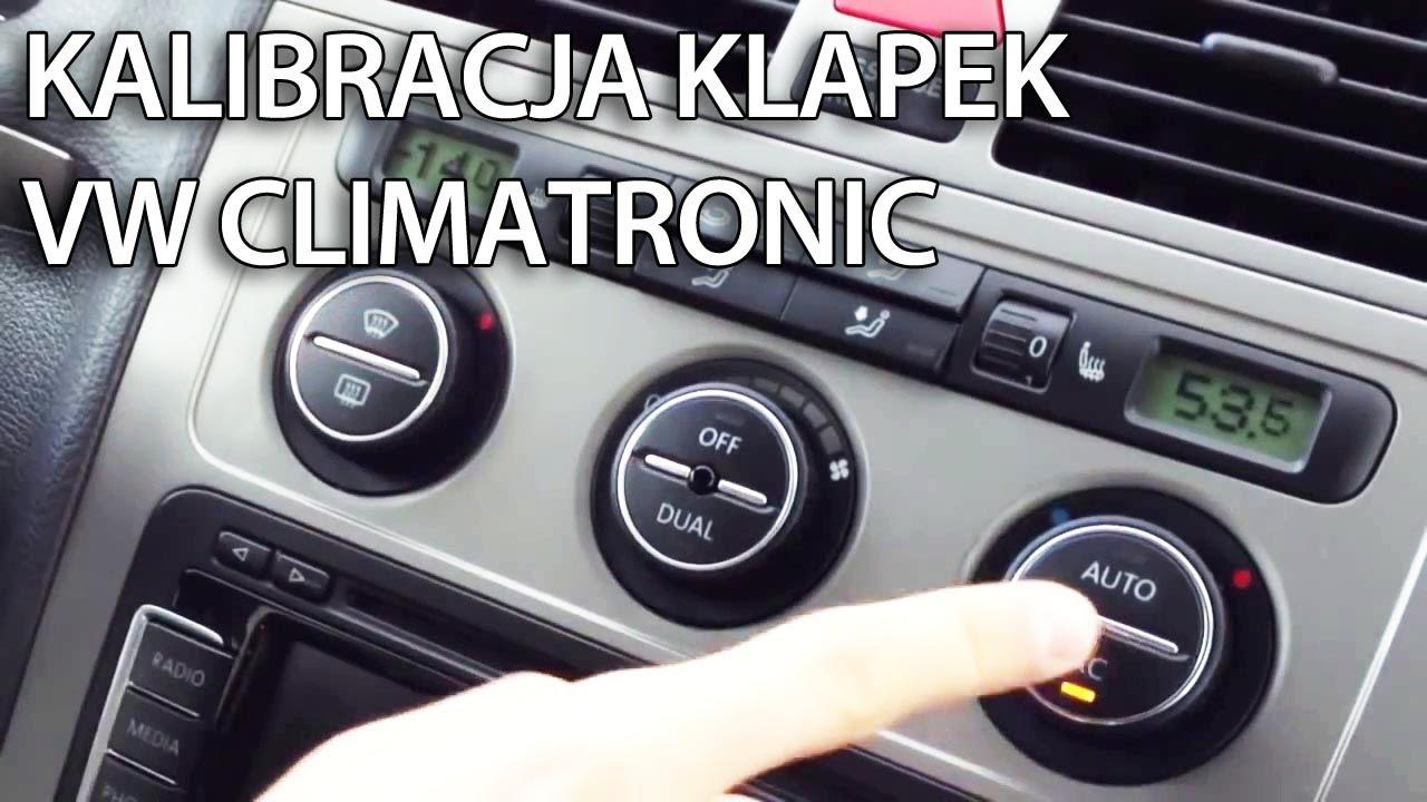 Reset Klapek W Vw Climatronic Golf Passat Jetta