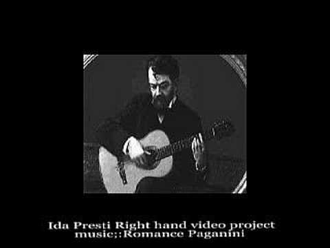 Ida Presti Right Hand Technique I