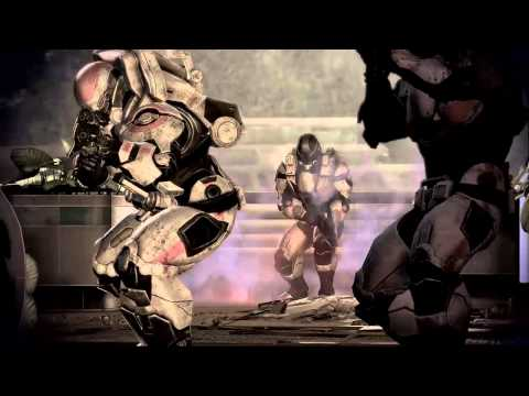 Mass Effect 3 Gameplay Trailer E3 - Fall Of Earth