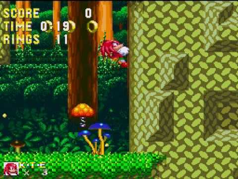 Sonic Classic Collection: Debug Mode in Knuckles and Sonic 3, No Cheats