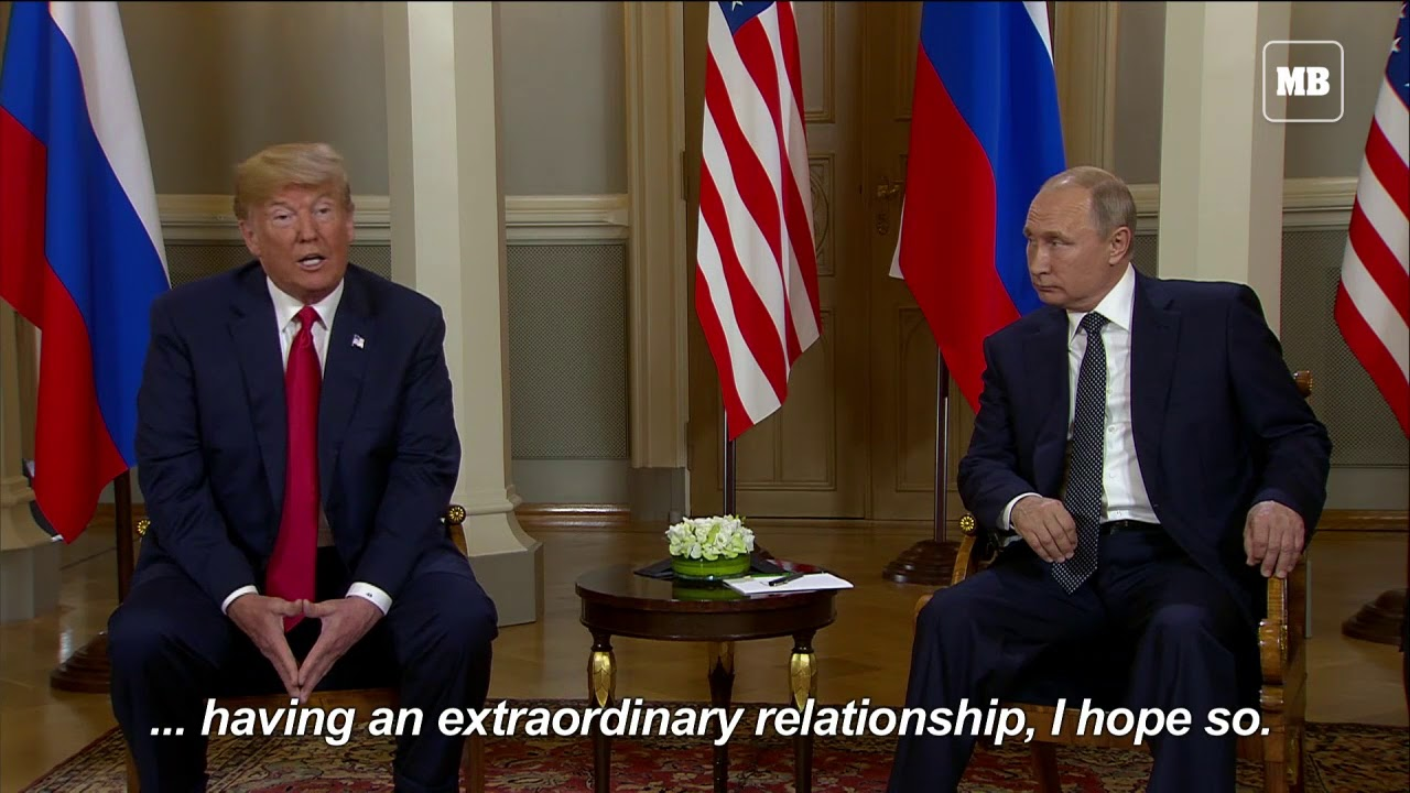 Trump and Putin discuss alleged election interference