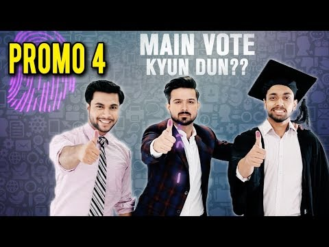 Main Vote Kyun Dun | Election 2018 | Promo 04 | Express Entertainment