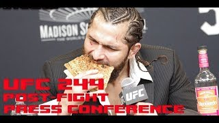 UFC 244: Jorge Masvidal Post-Fight Press Conference  (FULL)
