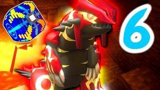 Minecraft Pixelmon ULTRA LUCKY BLOCK Island - Episode 6 - GROUDON'S CAVE!!