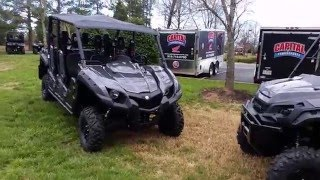 2016 Honda Pioneer 1000-5 and Yamaha Viking VI