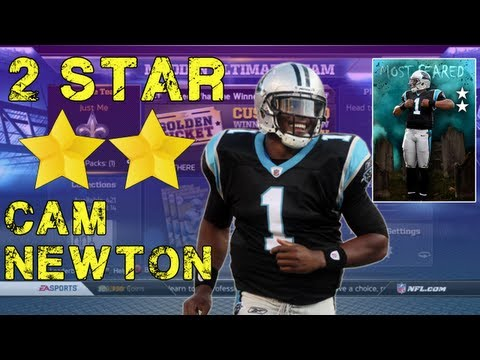 Madden NFL 13 - 2 Star Cam Newton Review - Madden 13 Ultimate Team - Madden Ultimate Team 13