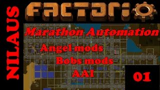 "Factorio - Marathon Automation - E01 - Rebooting ""Season 8"""