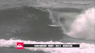 Time Tunnel  Raoni Monteiro  Quiksilver Pro Gold Coast