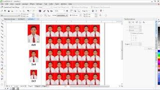 Cara Mudah Cetak Pas Foto dengan CorelDRAW - Tutorial Coreldraw
