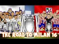 THE ROAD TO MILAN 2016 - Real Madrid vs Atletico Madrid UEFA ...
