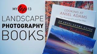 My BEST Landscape Photography BOOKS Develop & Process, E7
