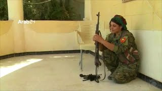 Yazidi woman freed from ISIS captivity in Sinjar returns for revenge on extremists